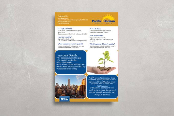 make a flyer design creative brochure unique poster design by