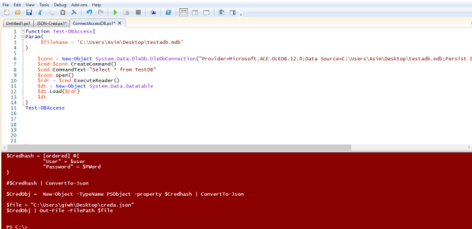 create powershell gui tools to automate your daily work and make it fast