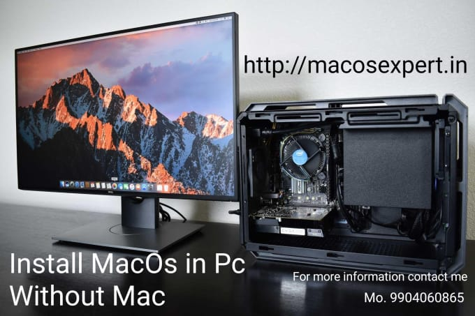 help to build customized hackintosh pc