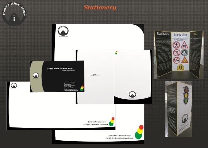 design modern professional business stationery by iamfatima24