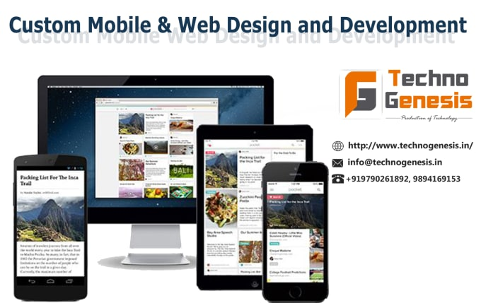Do web design and web application development services by Tgsiva