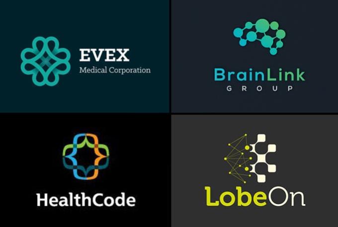 design modern medical health pharmacy logo