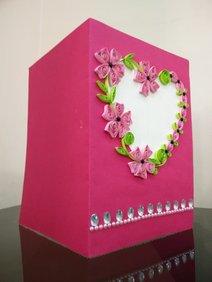 Sell Quilled Greeting Cards Which Are Completely Handmade And Customizable