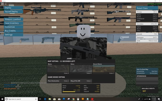 chiefsmokemup : I will for 5 I will coach phantom forces or strucid on  roblox for $5 on www fiverr com