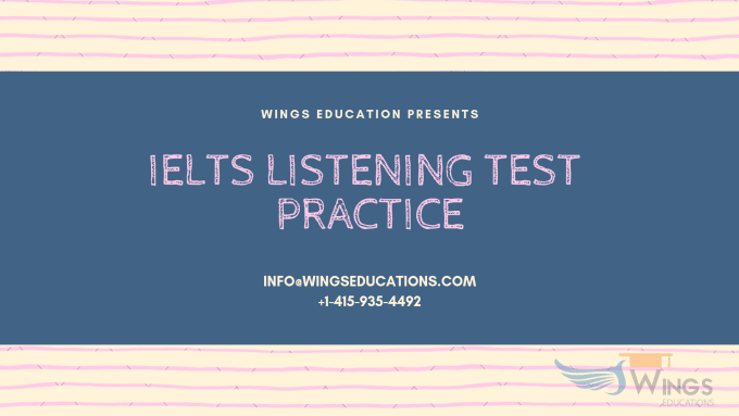 provide ielts listening tests and evaluation