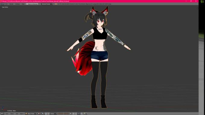 make your custom avatar for vrchat