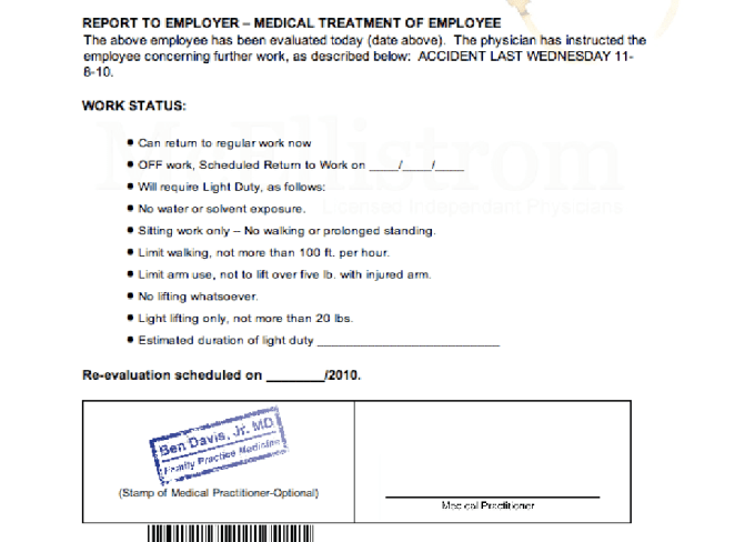 Medical Note | Give You Doctor Note Templates To Skip Work Or School By Novell