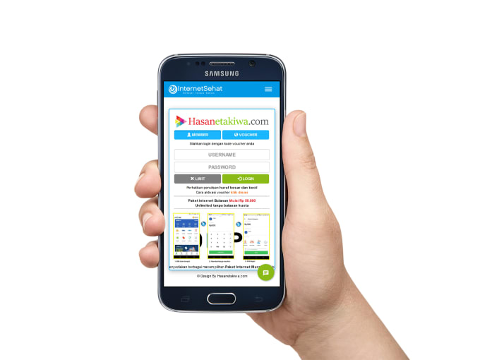 agungprayablog : I will custom login page hotspot mikrotik responsive  design for $20 on www fiverr com