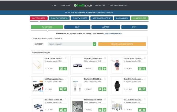 freddybbg1 : I will give you intelligynce shopify spy tool for $50 on  www fiverr com