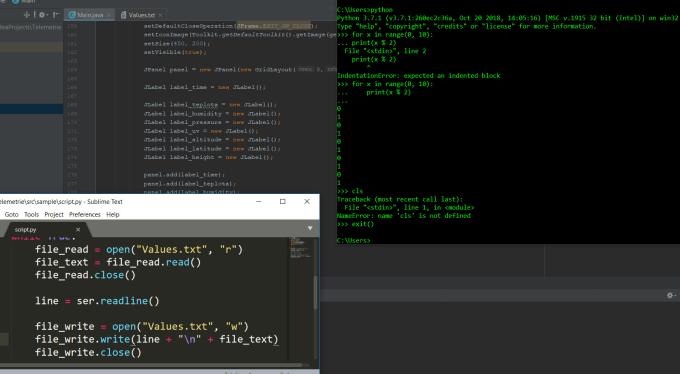 write a java program