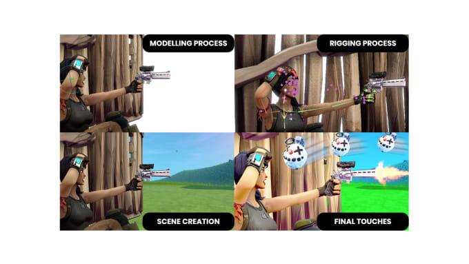Design A Clicky 3d Fortnite Thumbnail
