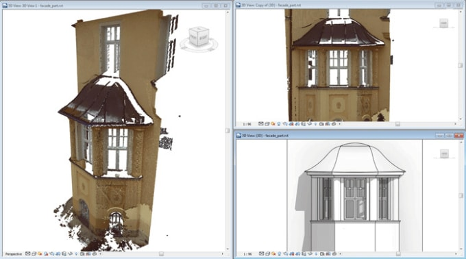 vankosmadych : I will convert cloud point xyz into archicad or revit for  $120 on www fiverr com