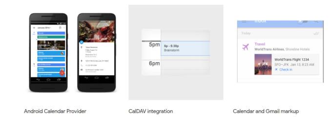integrate your webapi with the google calendar