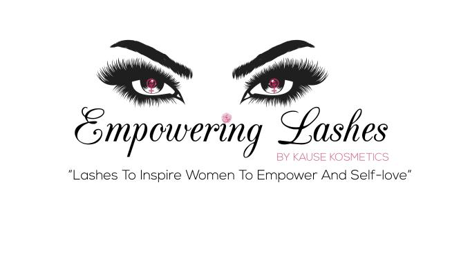 Design amazing eye lash,cosmetics and makeup artist logo by