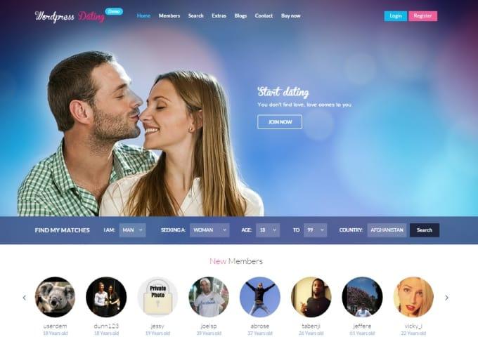 Machen Sie eine Dating-Website mit Wordpress