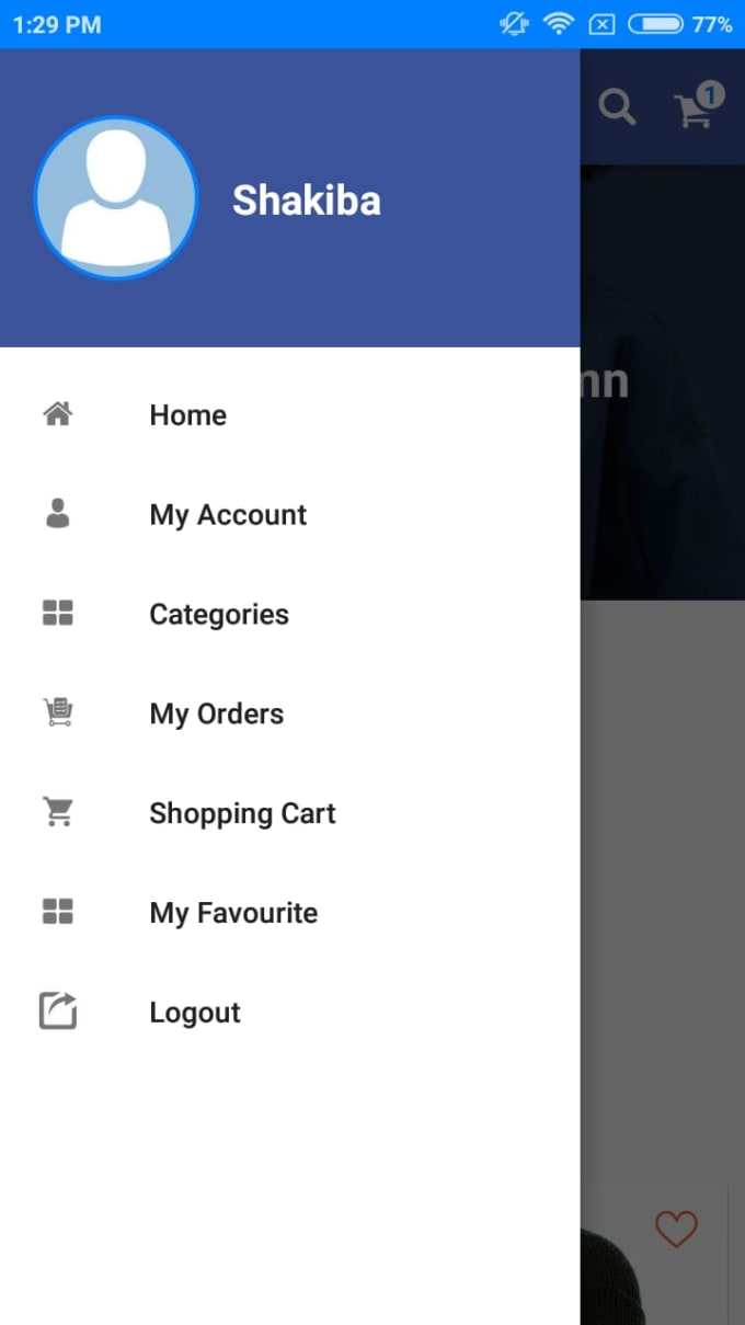 Ecommerce Android App With Admin Panel