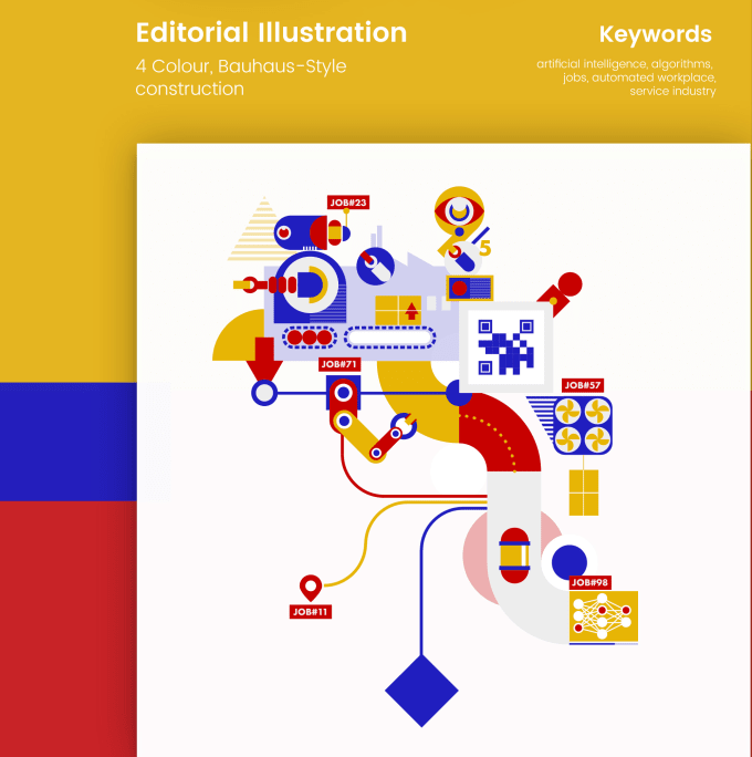 design illustrations for your articles, print or web