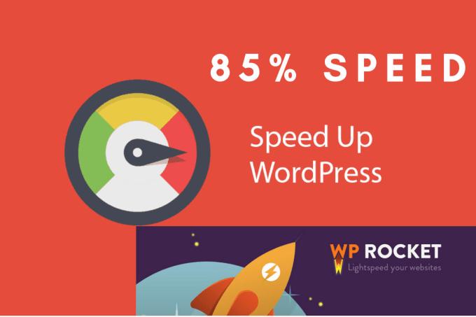Speed up n boost wordpress website by Shafayetbwd