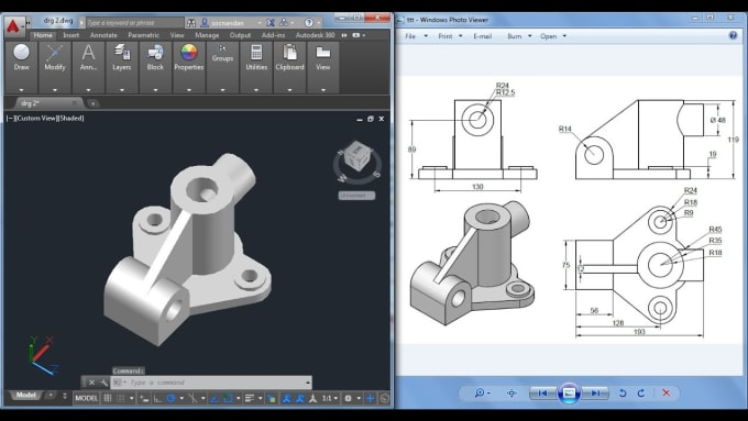 help you out with design and simulation in autocad, proe and arduino