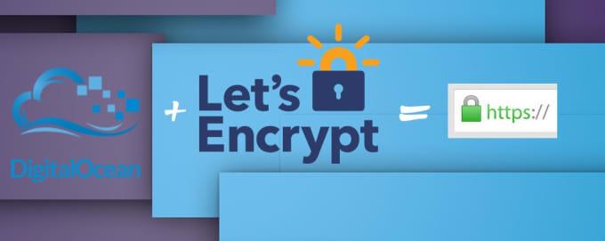 install free lets encrypt SSL certificate on digital ocean