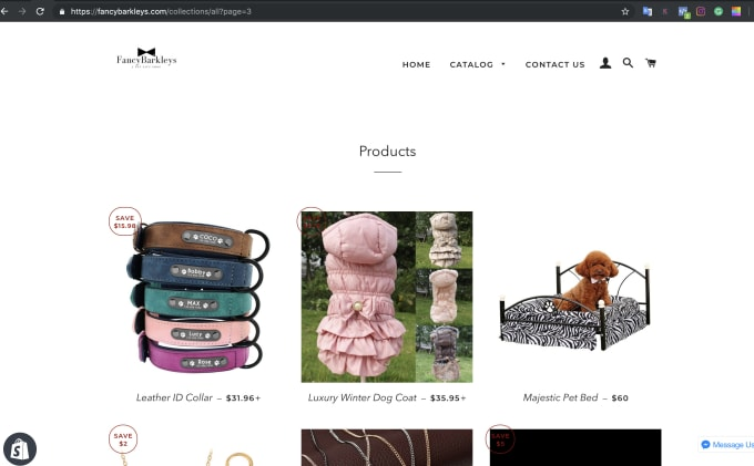 give you a niche shopify store