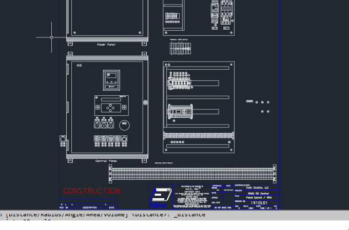 draw electrical drawings using autocad electrical