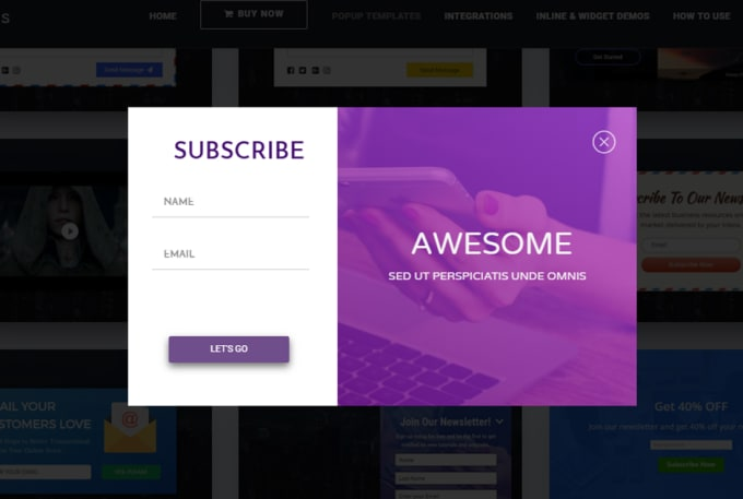 samir247 : I will create mailchimp popup or subscribe form using elementor  popups builder for $5 on www fiverr com