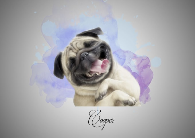 dinhnamnguyen : I will draw amazing realistic pet portraits for $5 on  www fiverr com