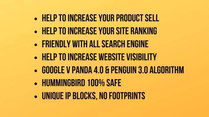 manually do 300 high da, backlinks, service for you
