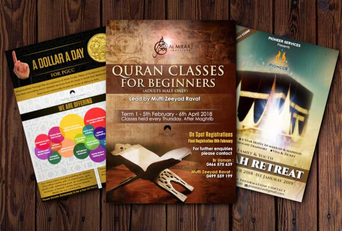 design eid flyer, eid banner, islamic banner