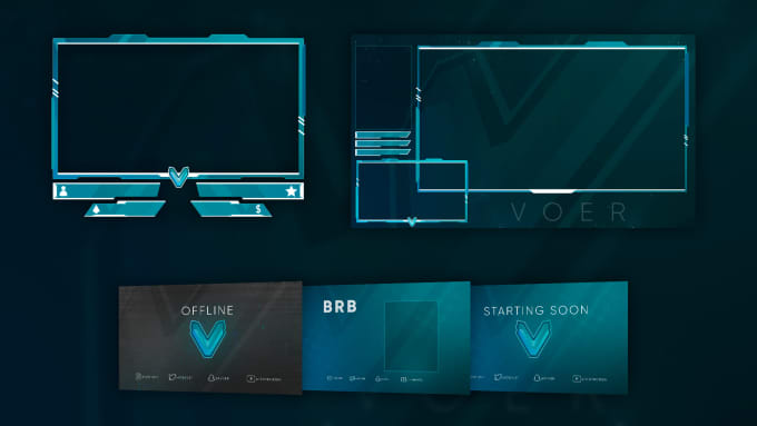 create your twitch overlay and graphics
