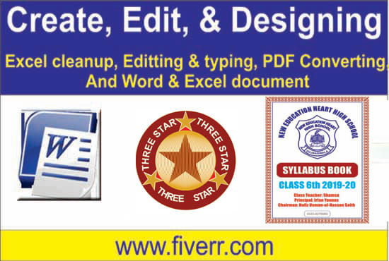 irfansaith : I will ms word data entry typing, poetry or copy writing for  $5 on www fiverr com