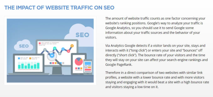 Provide genuine website traffic by Zari111