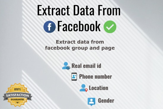 How To Extract Data From Facebook Group