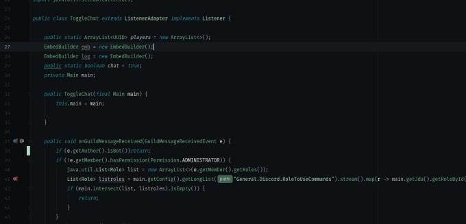 create a custom minecraft discord bot
