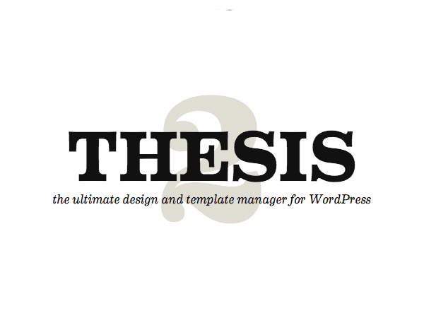 thesis theme affiliate The last thing you want to do is get your site set up just the way you want it and then accidentally overwrite something this enables the administrative interface for specifying the output of the breadcrumb trail.