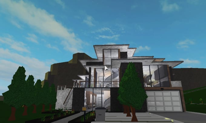 Building A Mini Town Roblox Welcome To Bloxburg 1 - Build You A House On Welcome To Bloxburg Roblox