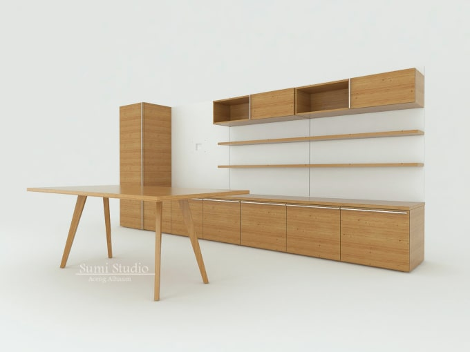 Do 2d 3d Shop Drawing For Cabinet Furniture By Sumi Studio