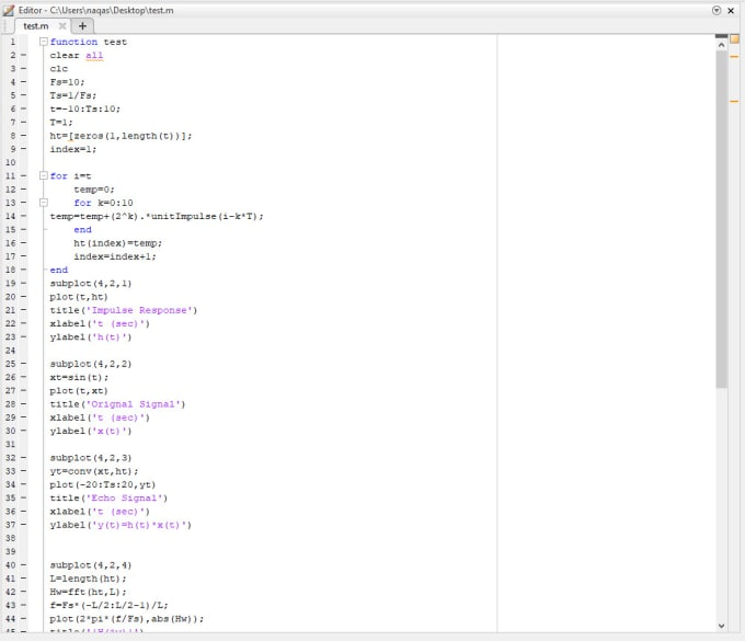 naqashnvd : I will code matlab programs and projects for $5 on  www fiverr com