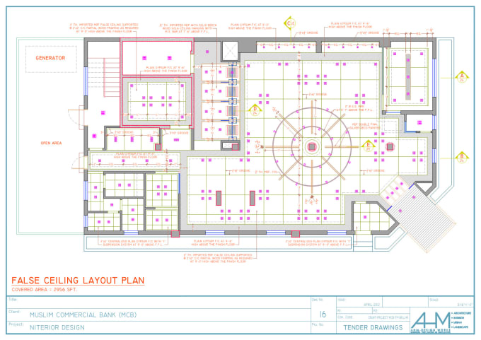 Do Interior Design Detail Drawings In Autocad 2d