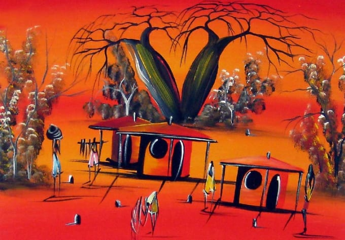 Sell excellent, high quality african art paintings by ...