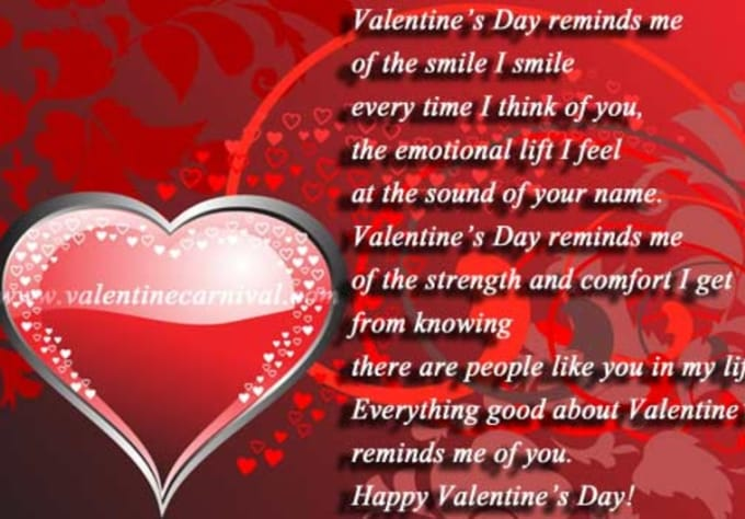 Write For You A Personalized Valentines Day Poem By -7202