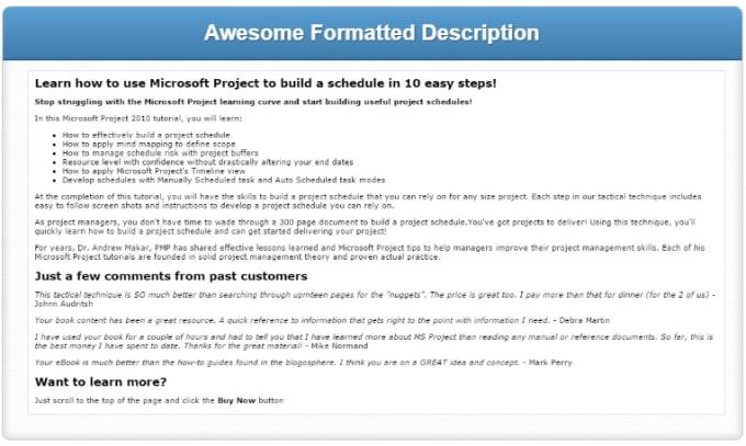 Format your amazon kindle ebook description with html code by amakar format your amazon kindle ebook description with html code fandeluxe Images