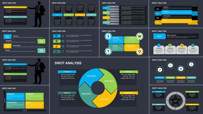 Provide 275 Powerpoint Templates Including Swot Analysis By Slideceo