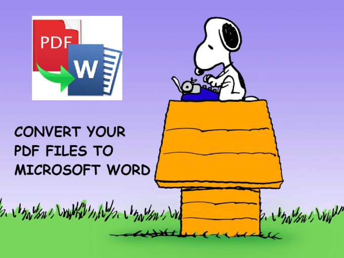 scanned pdf to word converter