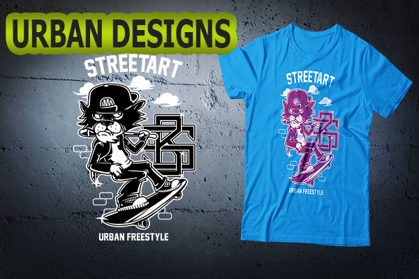 8fadfb32c Create urban street art custom t shirts by Urbancreatives