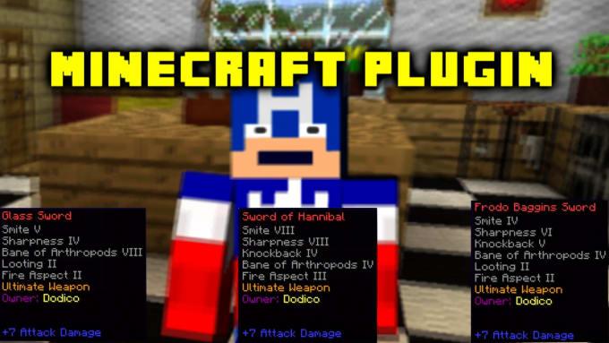 create a custom Minecraft Bukkit Sword plugin