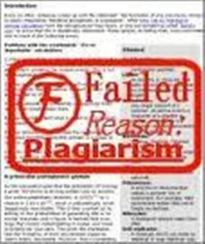 check research paper for plagiarism