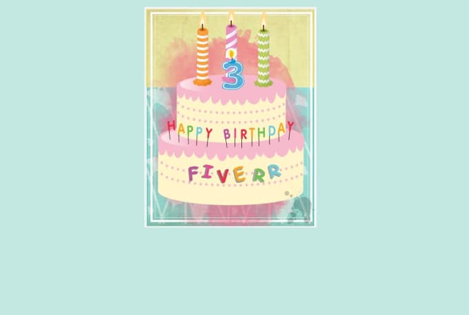 Create A Customized Virtual Birthday Cake Card By Dazzlingdianne