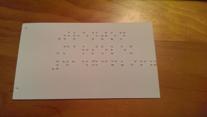 Make 10 braille business cards for you by trent6543 make 10 braille business cards for you colourmoves